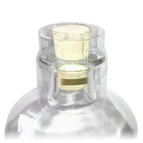 Capsule  thermo-rétractable bouteille apothicaire