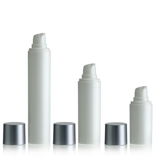 "15ml airless pump MICRO ""Silver cap"""