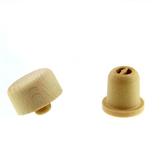 Holzgriffkorken TYP M (19mm) mit Dosieröffnung