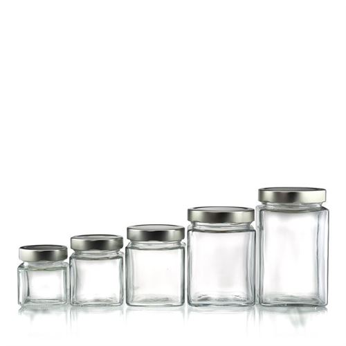 "212ml rectangular design jar ""Ikarus"""