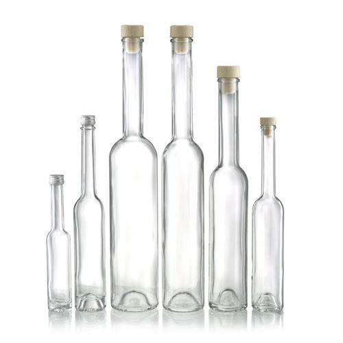 """100ml bottiglia con tappo a vite """"Platina"""""""