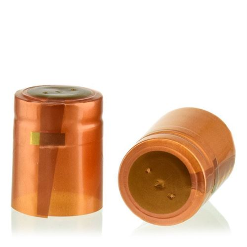 Capsule thermo-rétrécissante Typ M - bronze métalisé