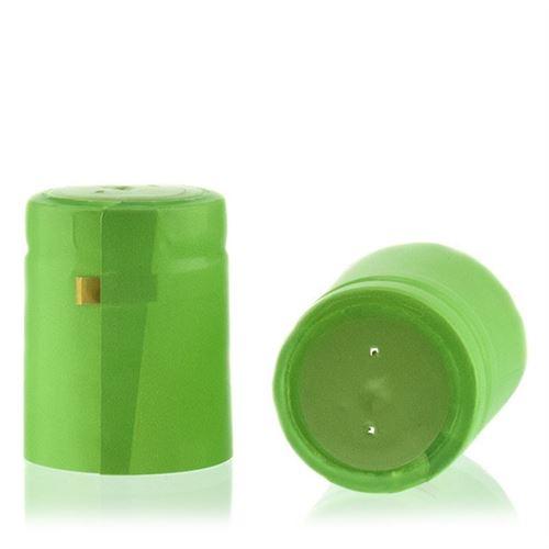 Capsule thermo-rétrécissante typ M vert lime/mat