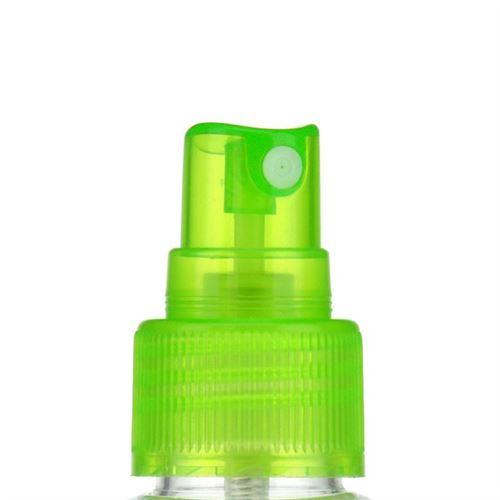 """100ml bouteille PET """"Karl"""" vert avec tête de pulvérisation"""