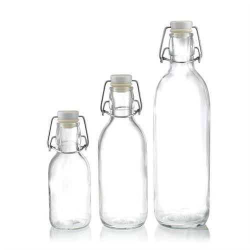 """1000ml Bottiglia con chiusura meccanica """"Tutti"""""""