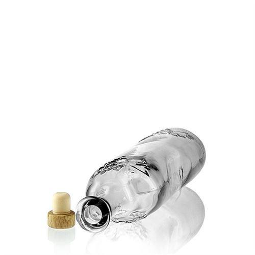 750ml flaske med druerelief
