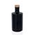 "500ml black-frosted glass bottle ""Caroline"" cork"