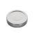 Deep Twist Off deksel 63mm zilver