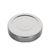 Deep Twist Off deksel 70mm zilver