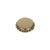 Kronkorken Standard 26mm gold/matt