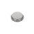 Kronkorken Standard 26mm silber/matt