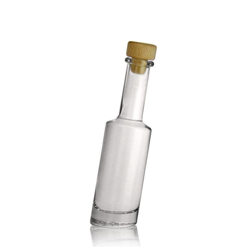 100ml botella de vidrio transparente bounty botellas y - Botellas de vidrio para regalo ...