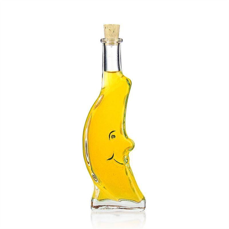 100ml botella de vidrio transparente luna botellas y - Botellas de vidrio para regalo ...