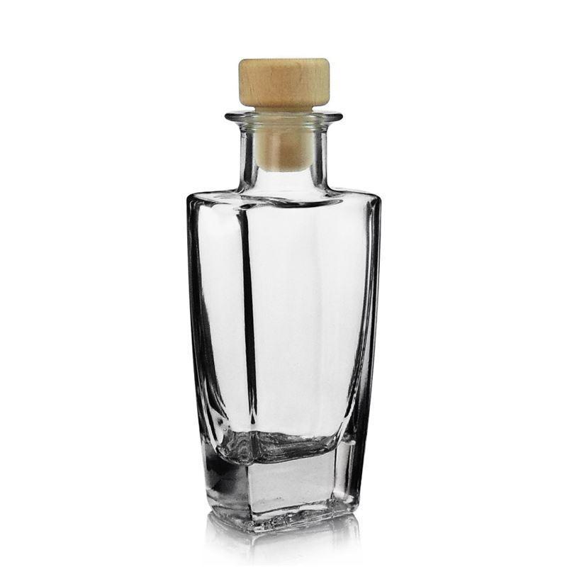 100ml botella de vidrio transparente sissi botellas y - Vidrio plastico transparente precio ...