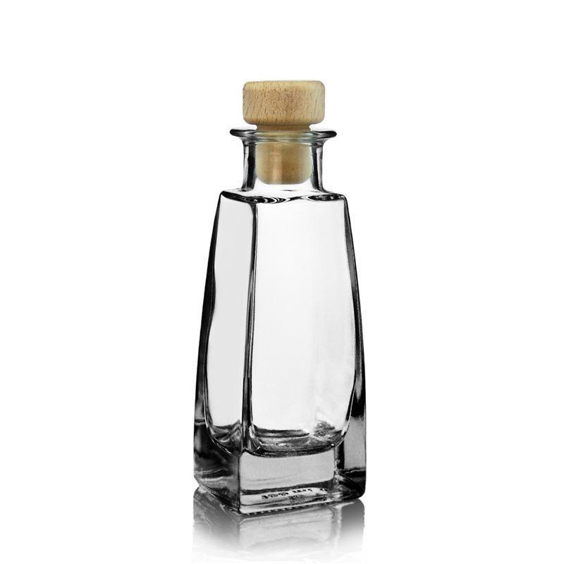 100ml botella de vidrio transparente timmy botellas y - Botellas de vidrio para regalo ...