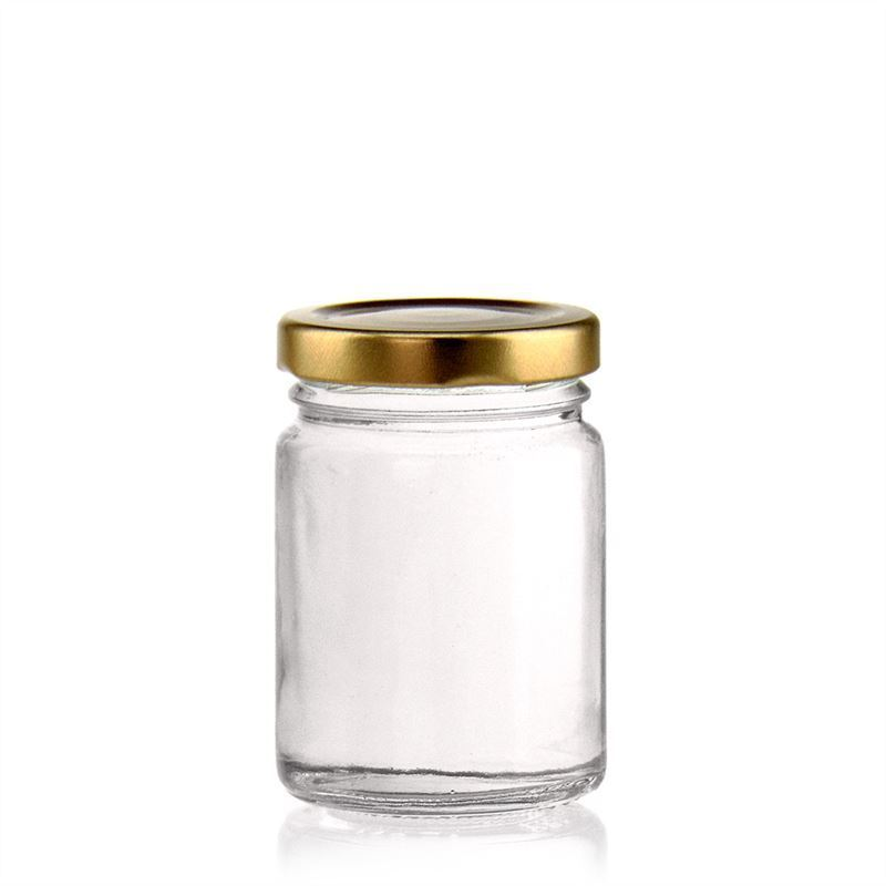 106ml vasetto in vetro rotondo con tappo a vite twist off 48 bottiglie e - Vasetti vetro ikea ...