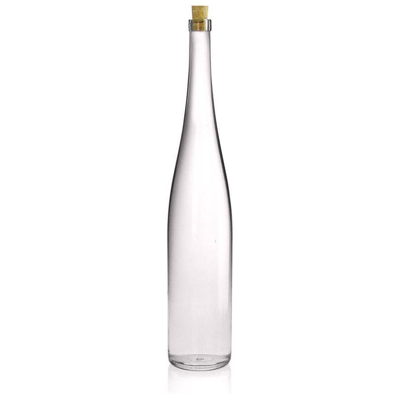 1500ml bouteille en verre clair forme vin du rhin bouteilles et - Bouteille en verre vide ikea ...