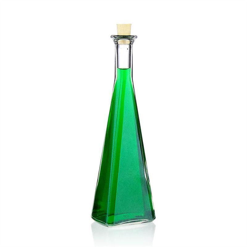 200ml botella de vidrio transparente magic botellas y - Botellas de vidrio para regalo ...