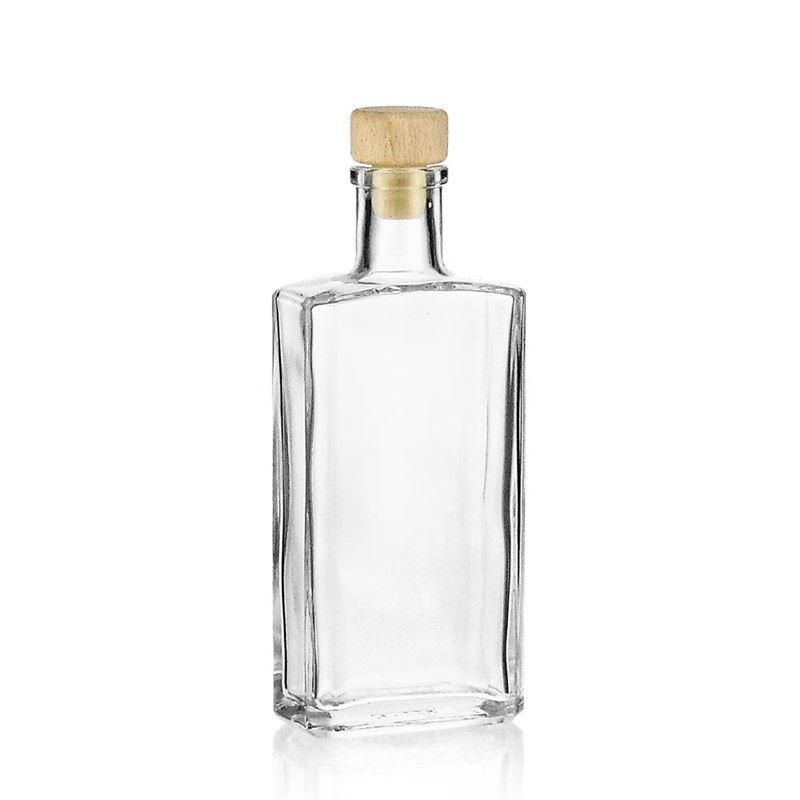 200ml bouteille en verre clair shiny bouteilles et. Black Bedroom Furniture Sets. Home Design Ideas