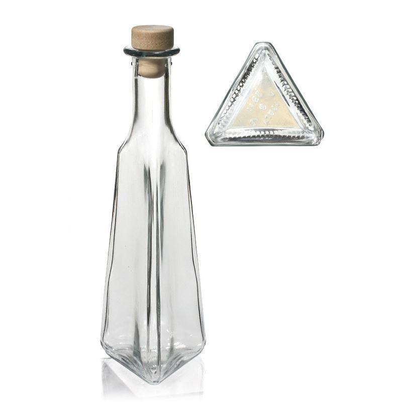 250ml botella de vidrio transparente manuel botellas y - Botellas de vidrio para regalo ...
