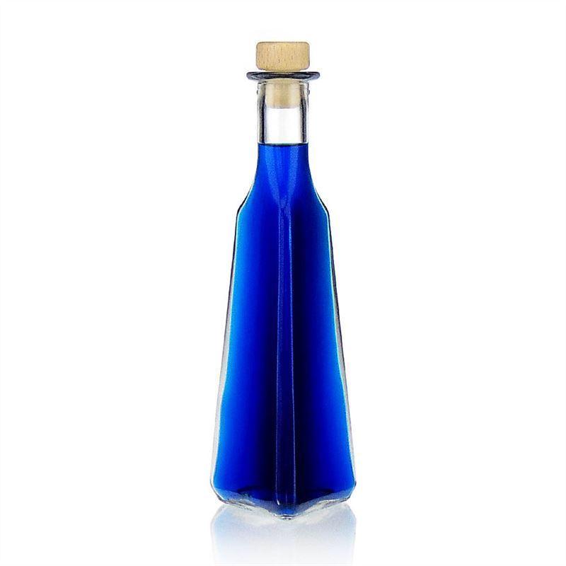250ml bouteille en verre clair manuel bouteilles et. Black Bedroom Furniture Sets. Home Design Ideas