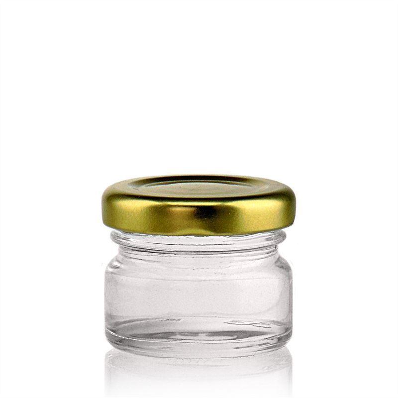 30ml vasetto in vetro con tappo a vite twist off 43 bottiglie e - Bottiglie vetro ikea ...