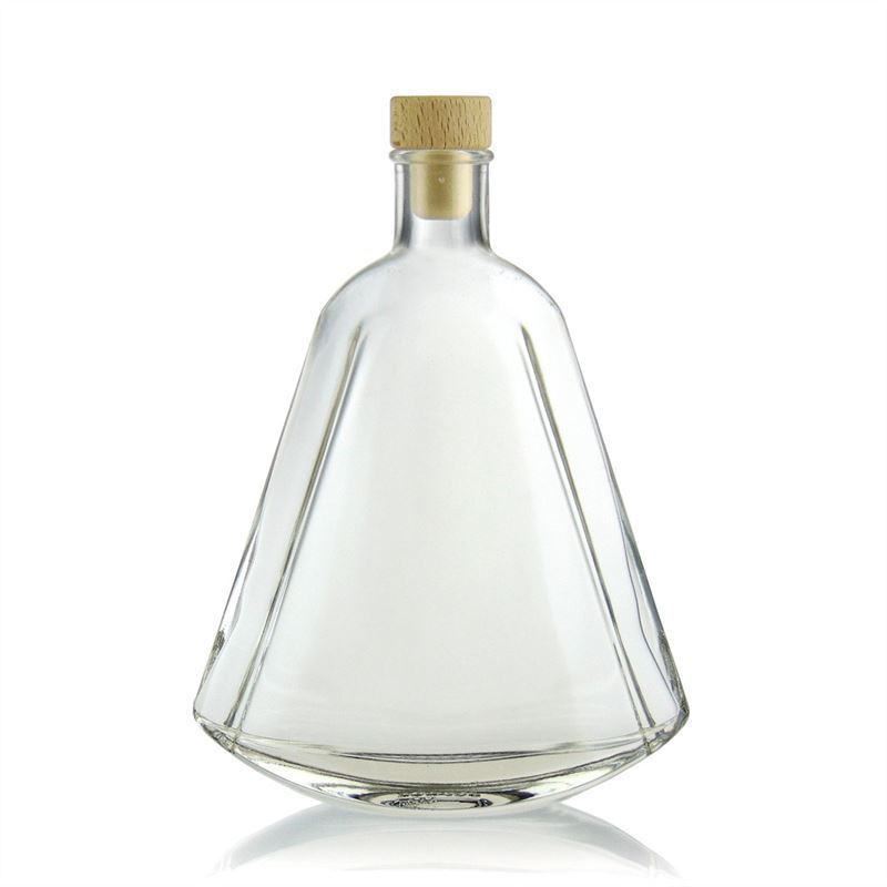 350ml botella de vidrio transparente maurizio botellas - Botellas de vidrio para regalo ...