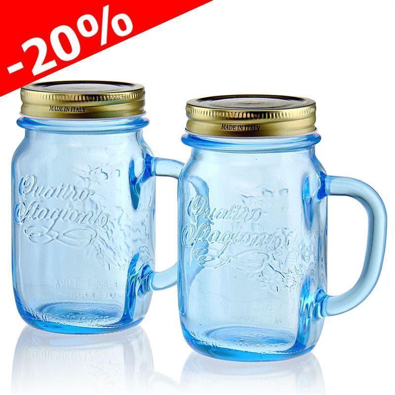 Gläser 400ml - zum Einmachen oder für Marmelade - Flaschenland.de