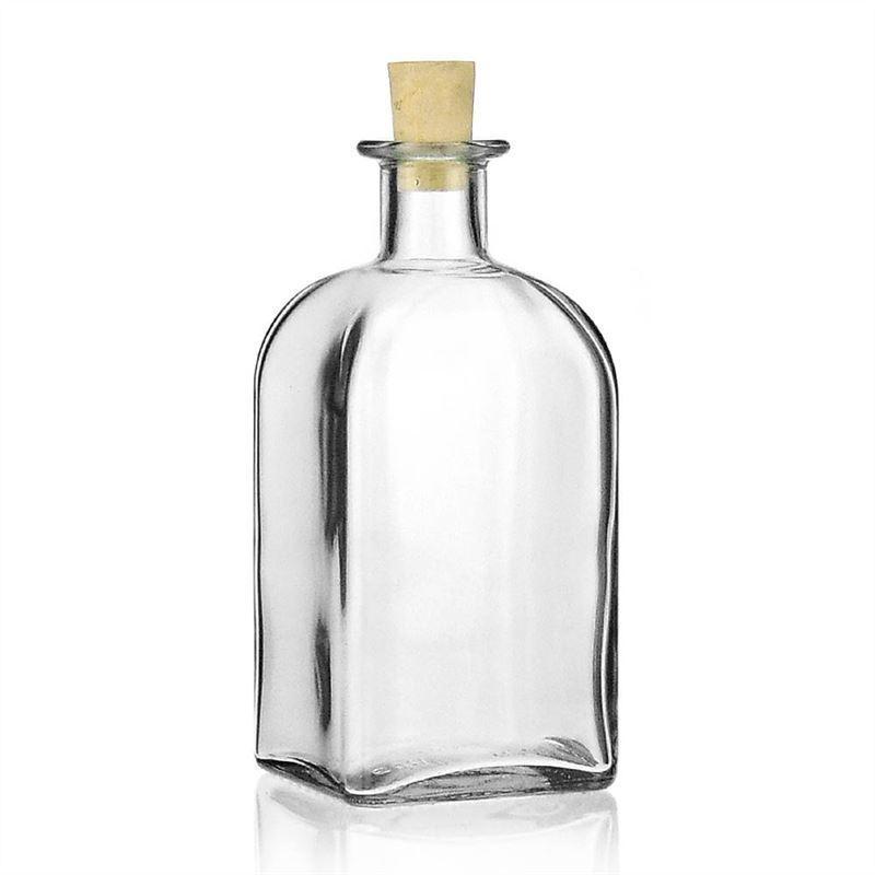 500ml klarglasflasche apo carree. Black Bedroom Furniture Sets. Home Design Ideas