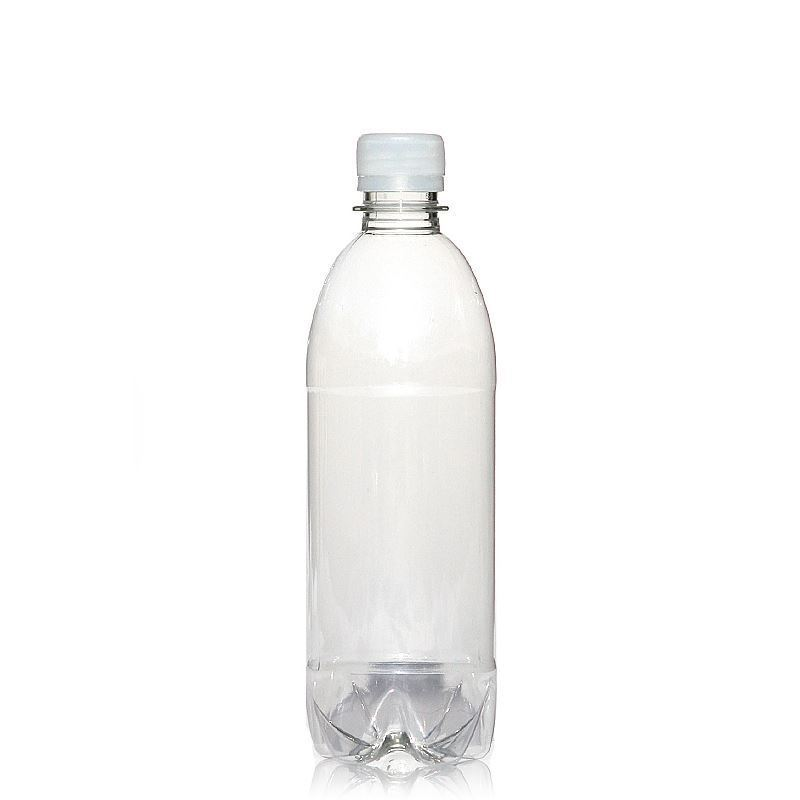 små plastflaskor med kork