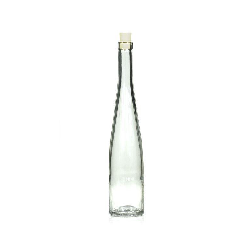 500ml bouteille verre clair fl te de vin bouteilles et. Black Bedroom Furniture Sets. Home Design Ideas