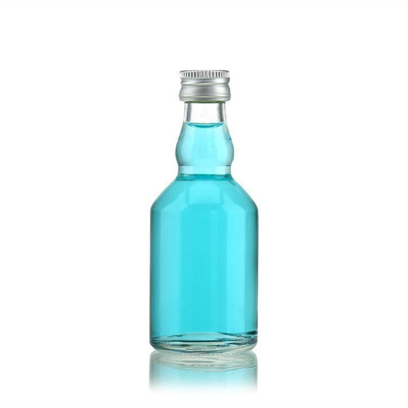 50ml botella de vidrio transparente georgio botellas y - Vidrio plastico transparente precio ...
