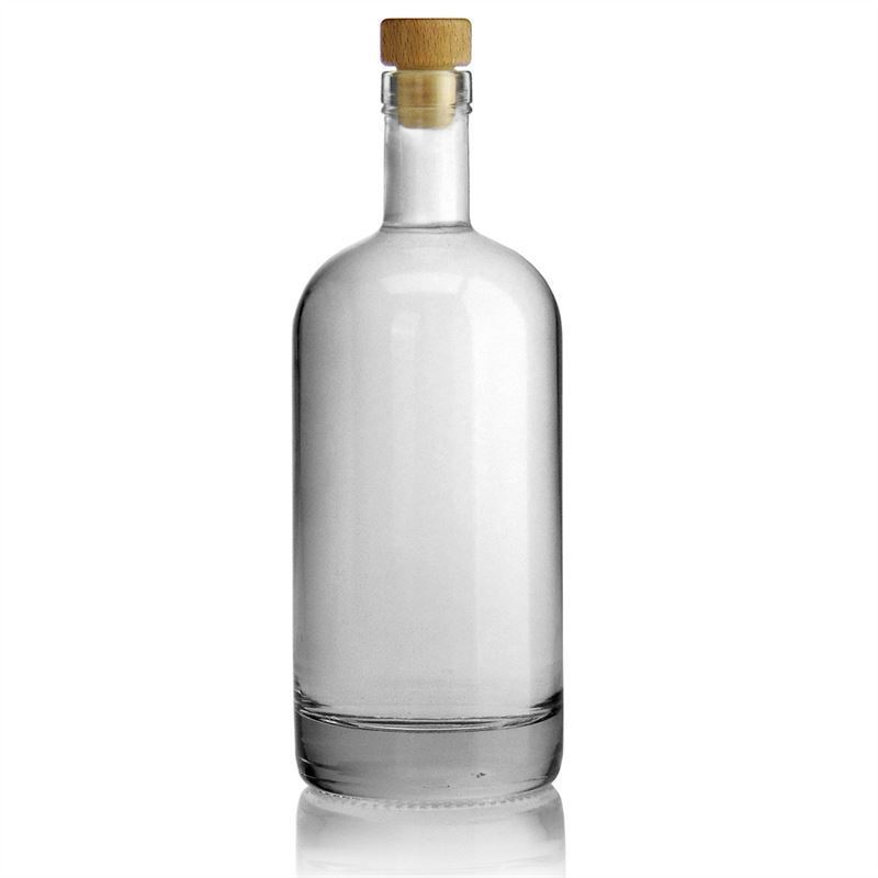 700ml flint glass bottle linea uno