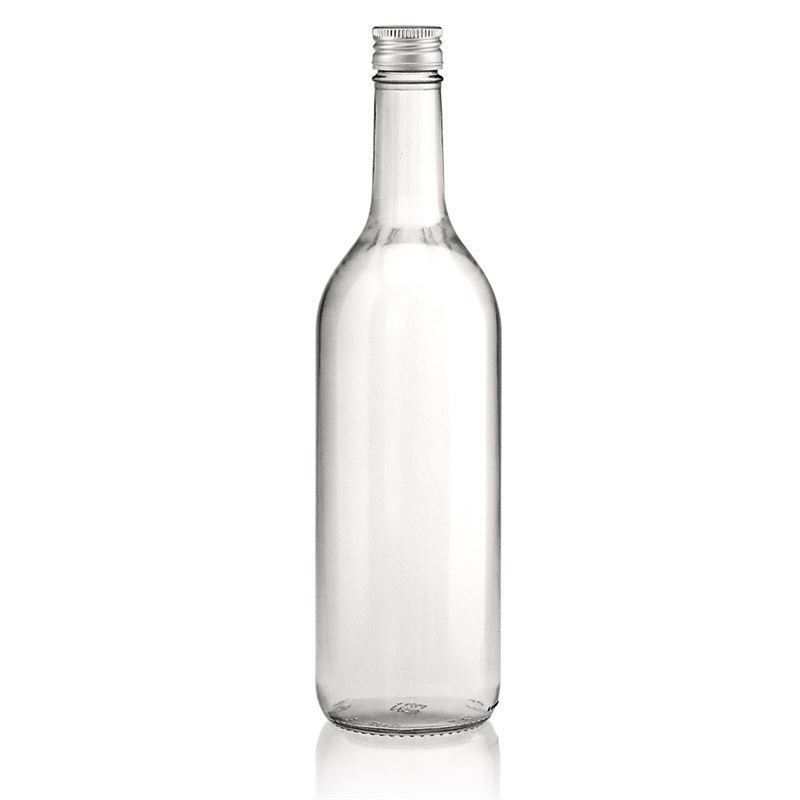 750ml clear glass bottle bordeaux alleg e screw cap. Black Bedroom Furniture Sets. Home Design Ideas