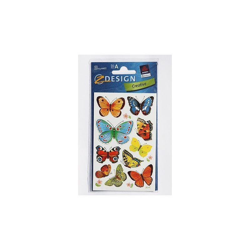 Adesivi decorativi farfalle bottiglie e for Adesivi decorativi