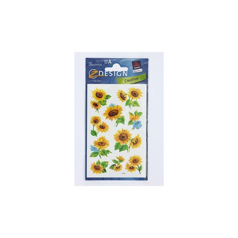 Adesivi decorativi girasole bottiglie e for Adesivi decorativi