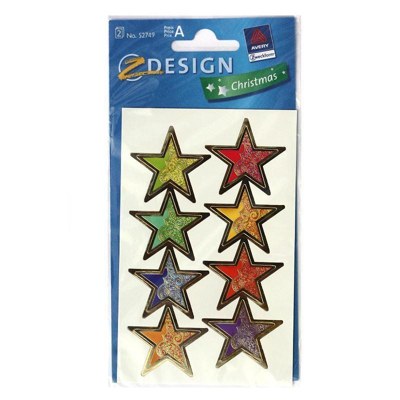 Adesivi decorativi stelle magice bottiglie e for Adesivi decorativi