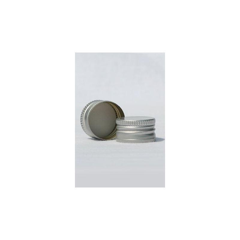 schraubverschluss pp28 silber mit gewinde. Black Bedroom Furniture Sets. Home Design Ideas