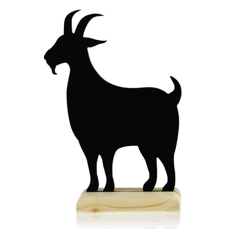 Tableau chèvre mouton 5 Tableau sur pied Chevre
