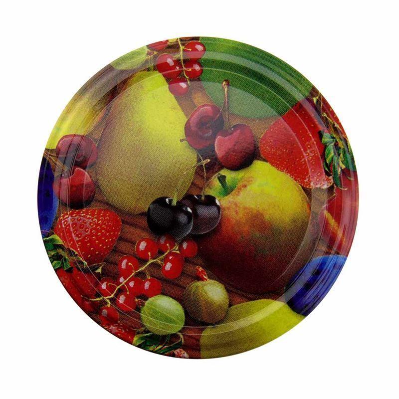 Twist off deksel 82mm fruit for Twist off deckel 82
