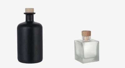 Mattfinished bottles