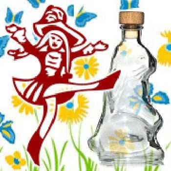 Flaschen Frühling