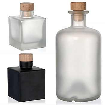 Mattierte Flaschen