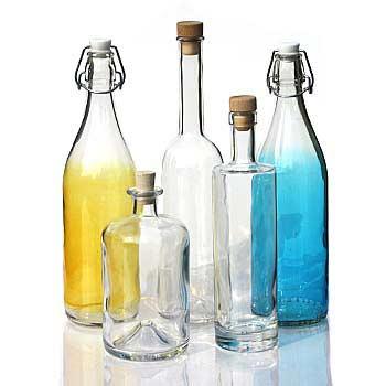 1000ml glasflasker