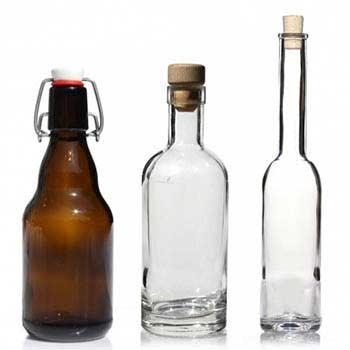 350ml glasflasker