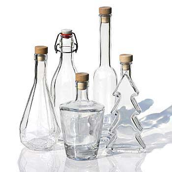 500ml glasflasker
