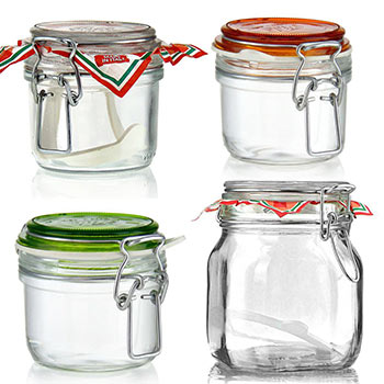 Swing top jars