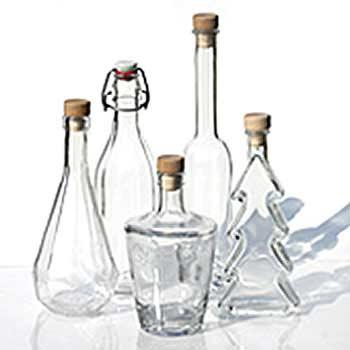 Botellas de vidrio de 500 ml