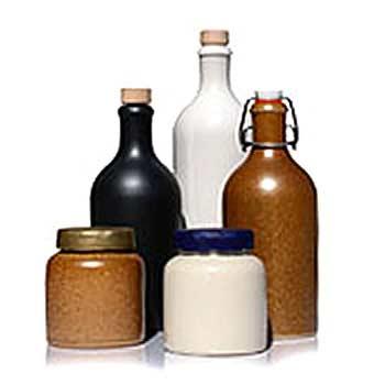 Botellas de loza