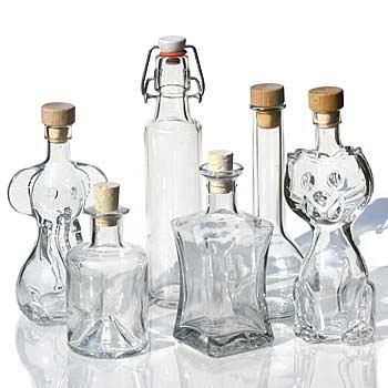 200ml bottiglie di vetro